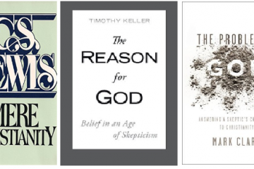 3 books for the Skeptic of Christina curious